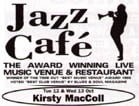 Jazz Cafe flyer, 1999