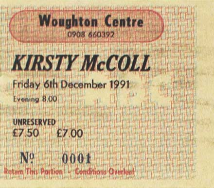 Terry's Woughton Centre ticket