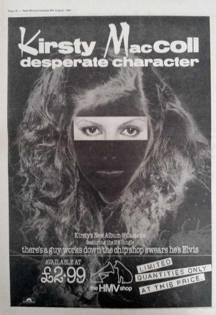 Desperate Character (1981) advert