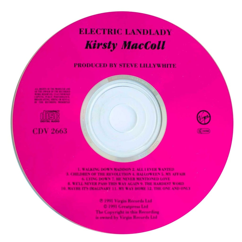 Electric Landlady (1991 CD) disc