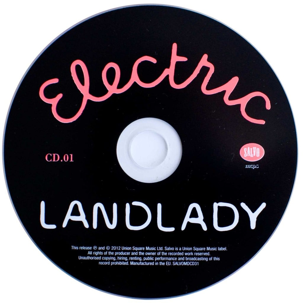 Electric Landlady (2012 CD) disc 1