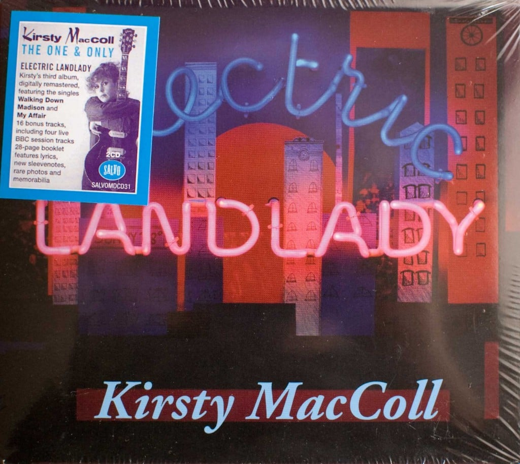 Electric Landlady (2012 CD) front cover