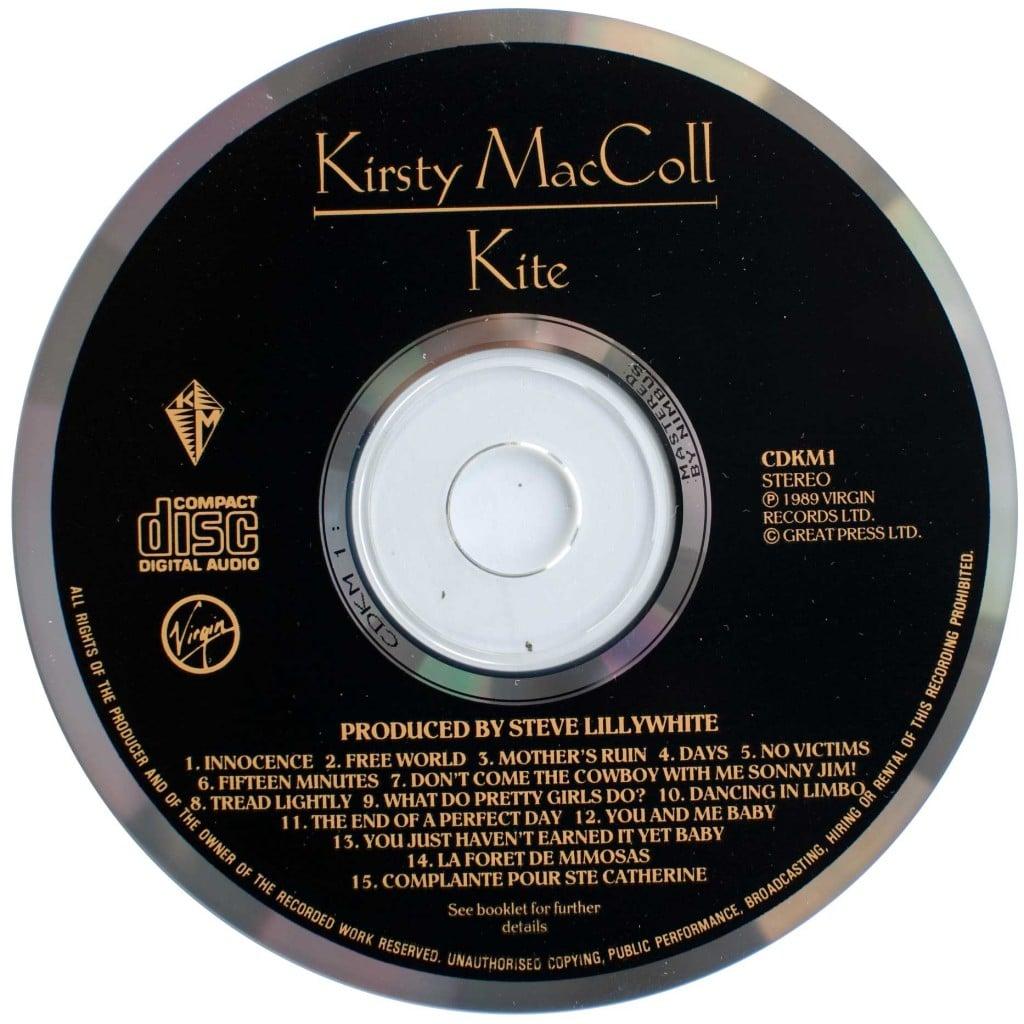 Kite (1989 CD) disc