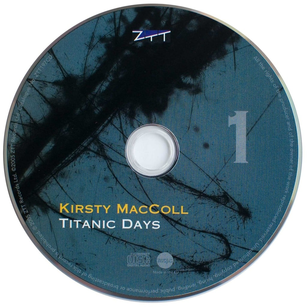 Titanic Days (CD 2005) disc 1