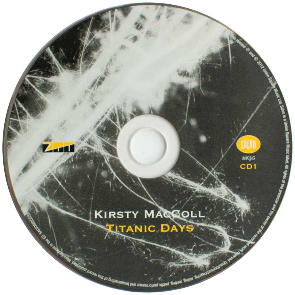 Titanic Days (2012 CD) disc 1