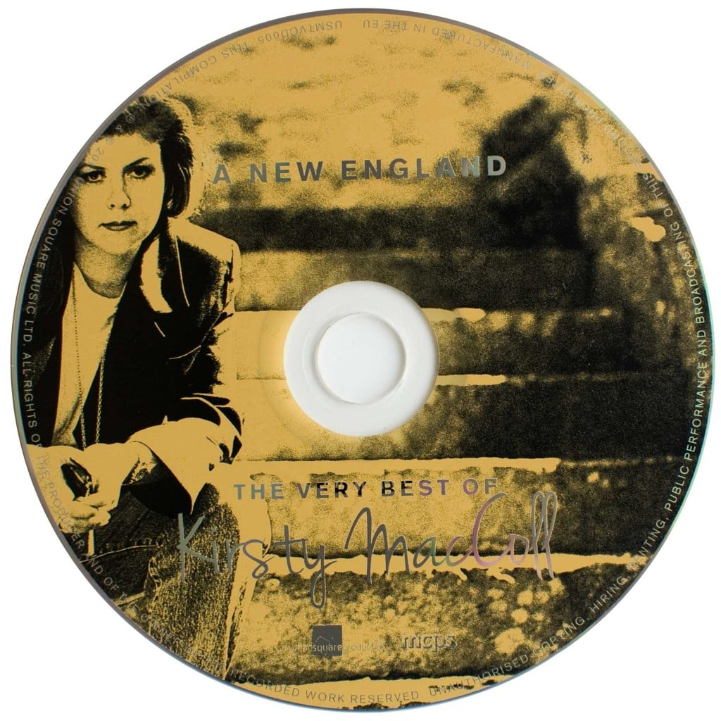 A New England: The Very Best of Kirsty MacColl (CD 2013) disc