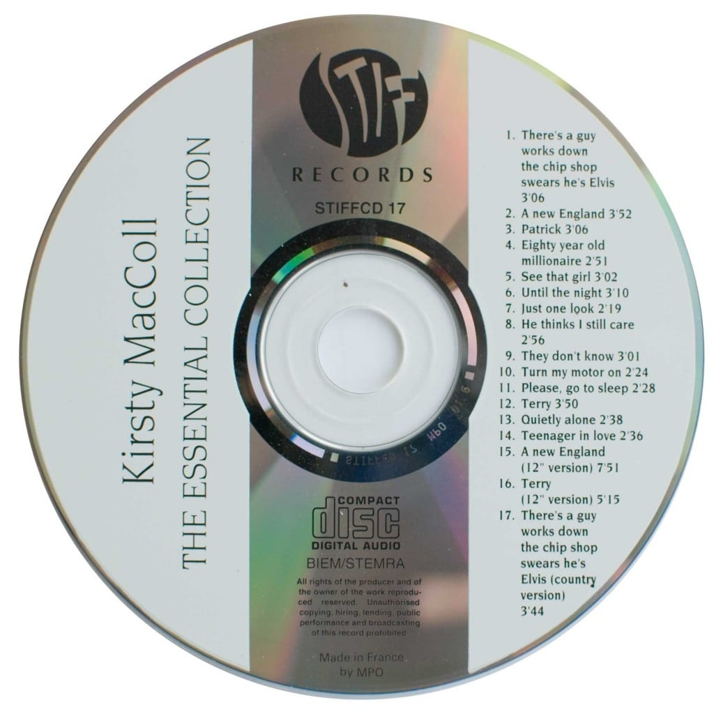 The Essential Collection (1993 CD) disc