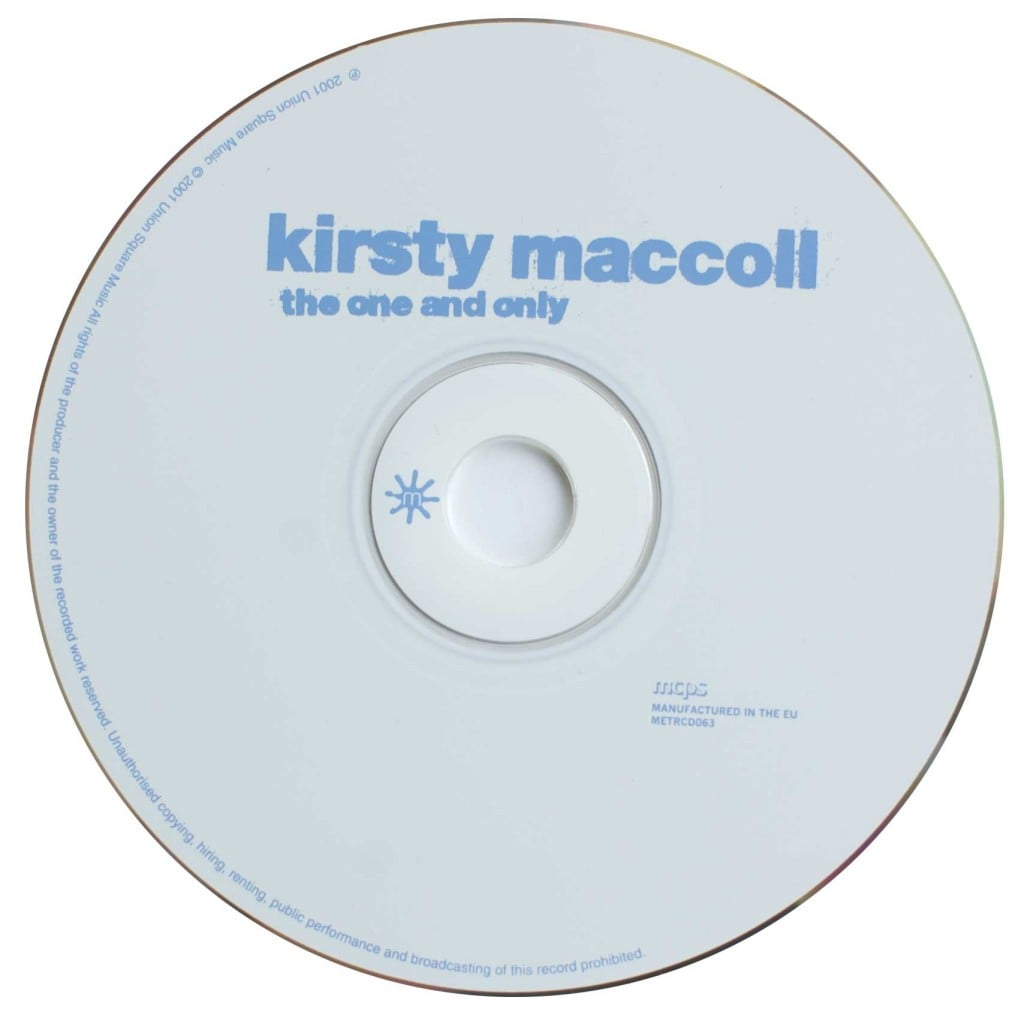 The One and Only (compilation CD 2001) disc