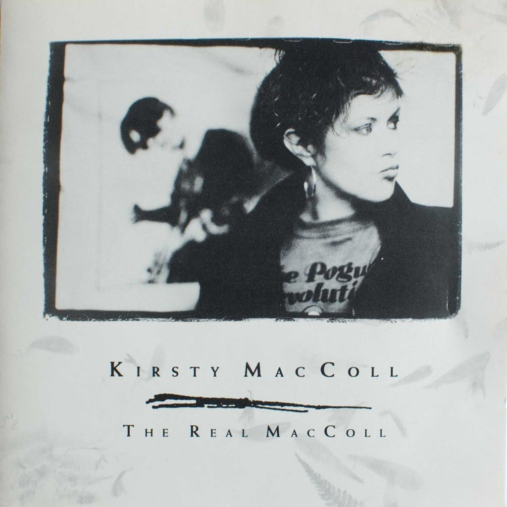 The Real MacColl (1990 CD promo) front cover