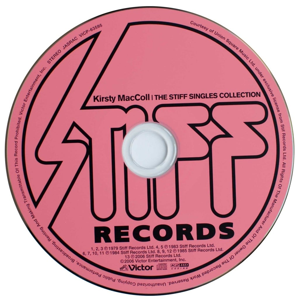 The Stiff Singles Collection (CD 2006) disc