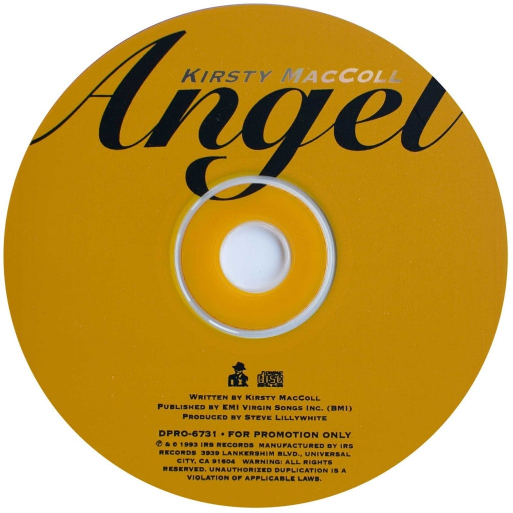 Angel (CD promo) disc