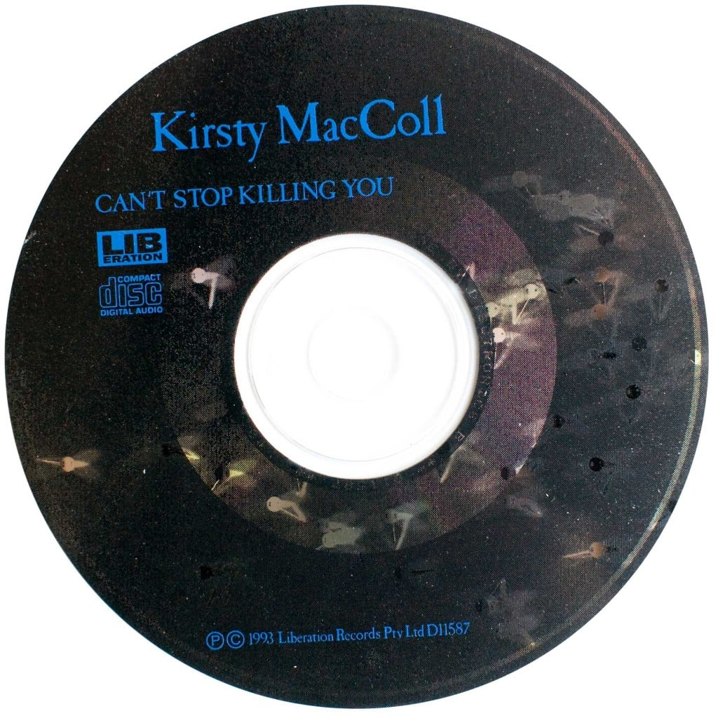 Can't Stop Killing You (Aust CD promo) disc