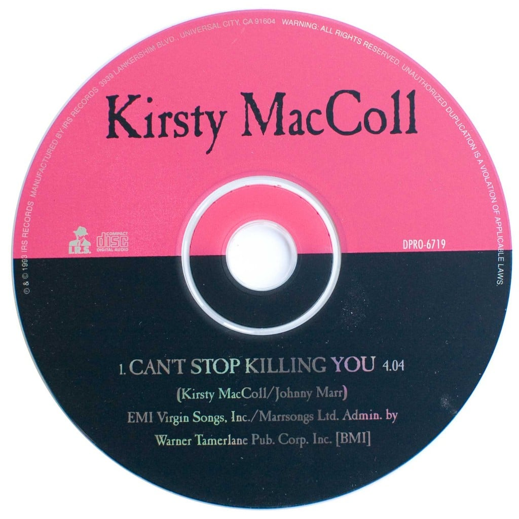 cant-stop-killing-you-cd-promo-disc
