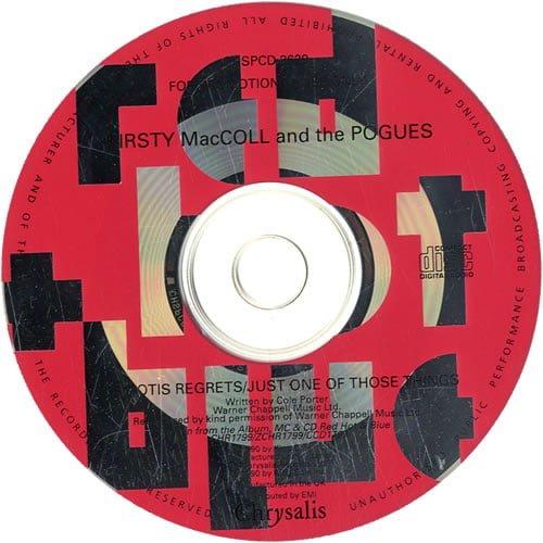 Miss Otis Regrets (CD promo) disc
