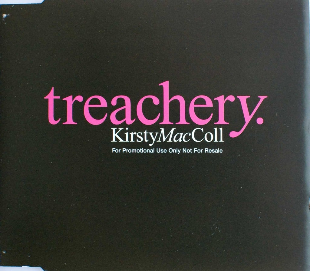 Treachery (CD promo) front cover