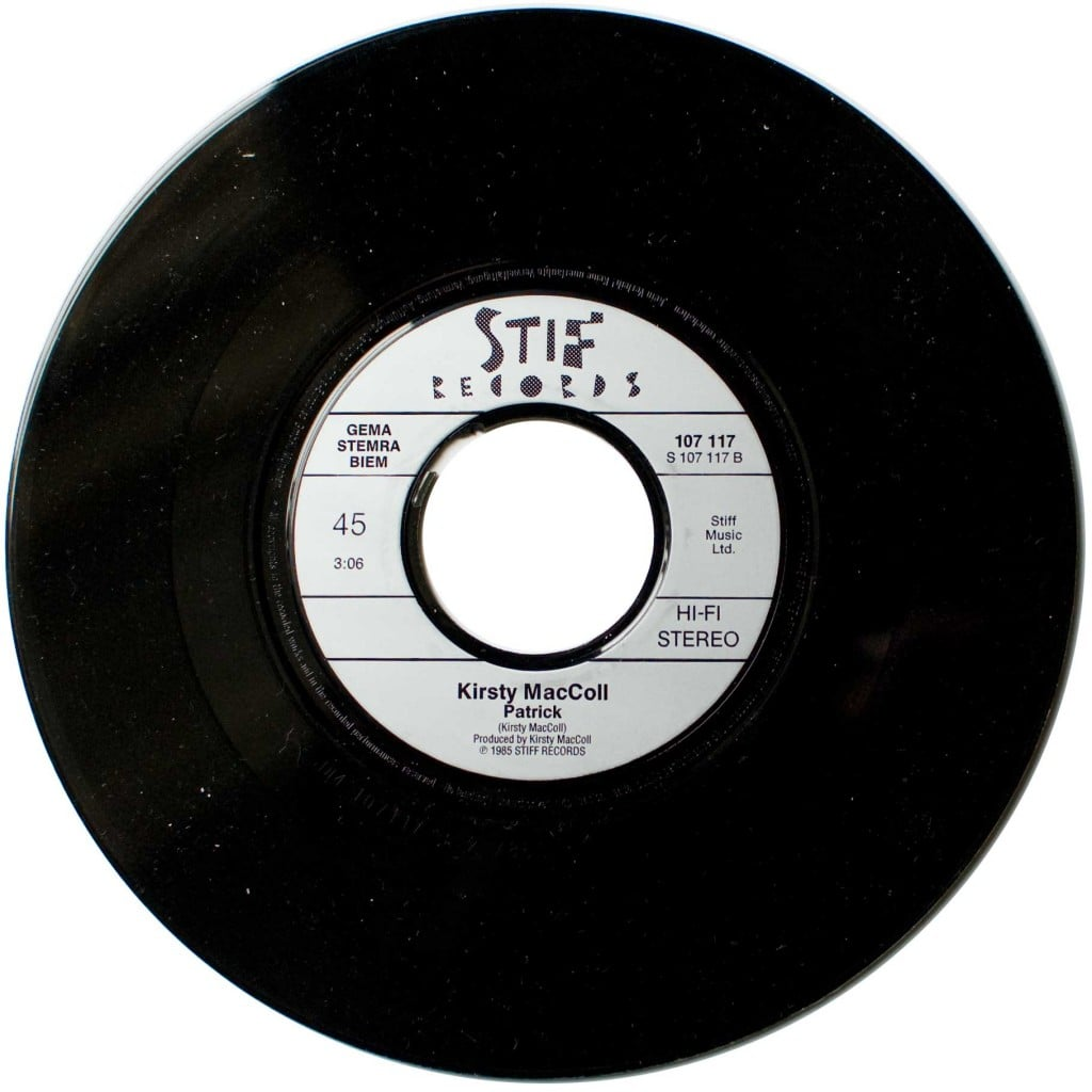 A New England 7' single, B side