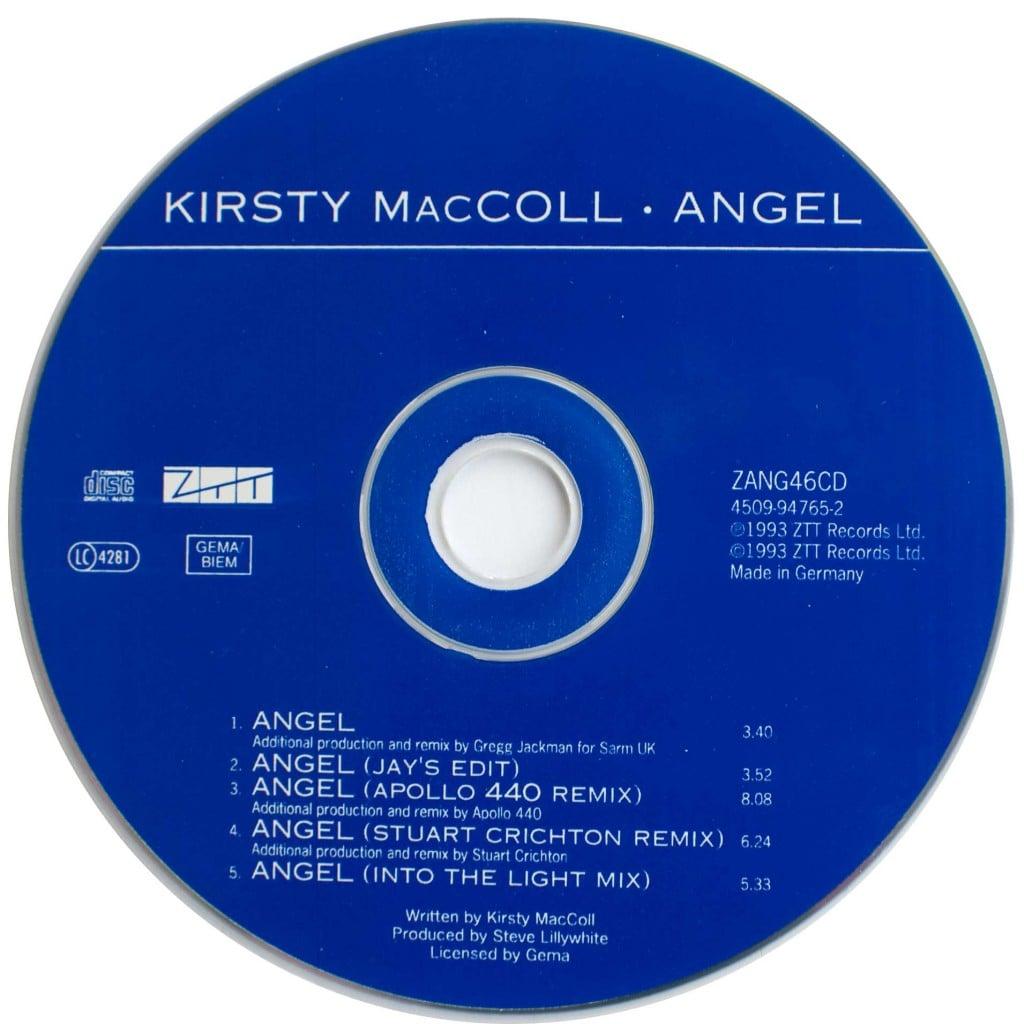 Angel (CD single) disc