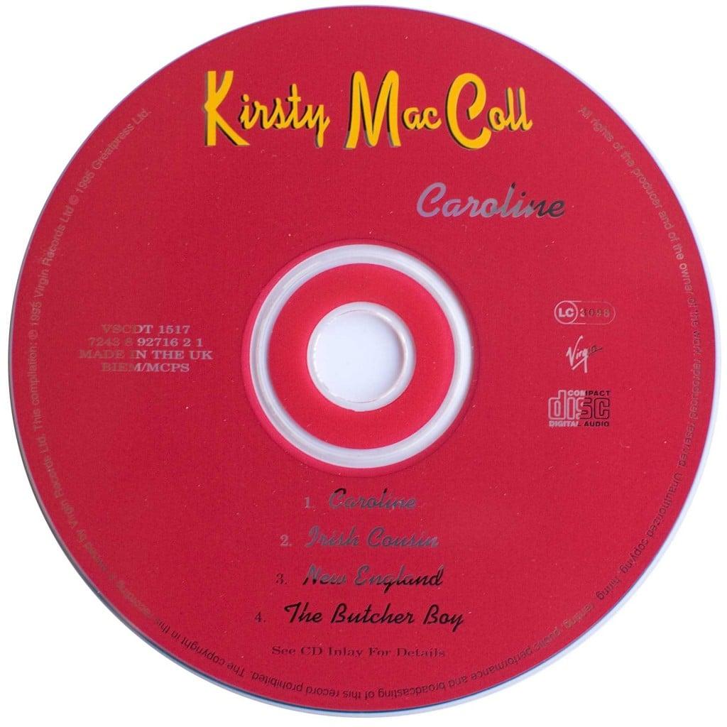 Caroline (CD single 1) disc