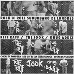 Rock 'n' Roll Suburbano de Londres, Spanish EP cover