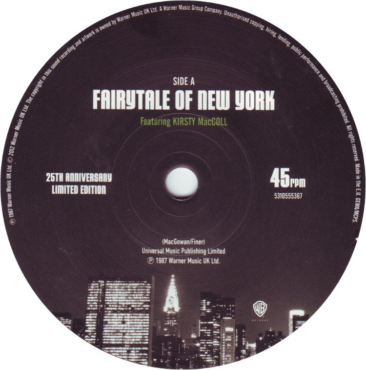 "Fairytale of New York (7"" 2012) A side"