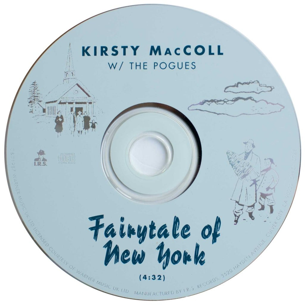 Fairytale of New York CD Promo, disc