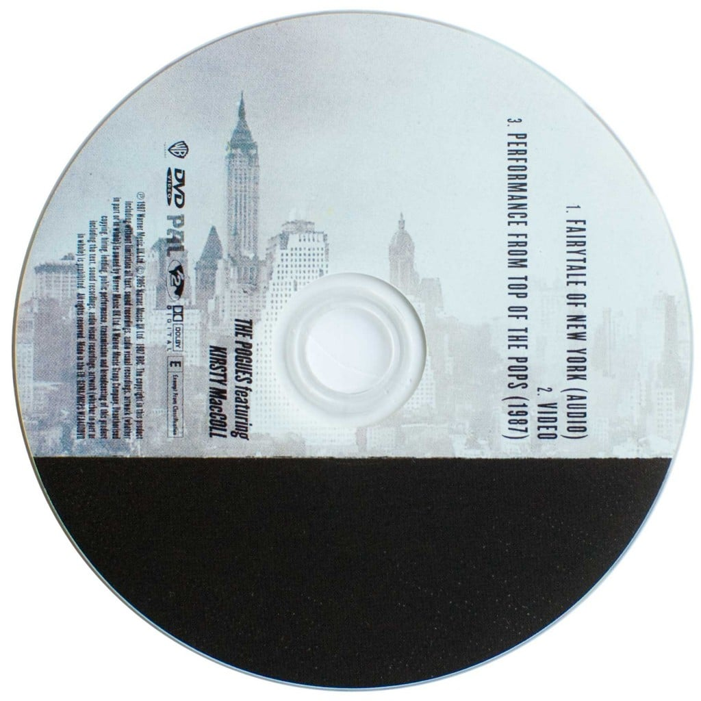 Fairytale of New York (DVD) disc