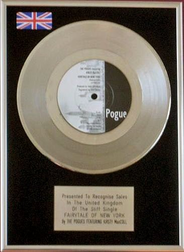Fairytale of New York, platinum record