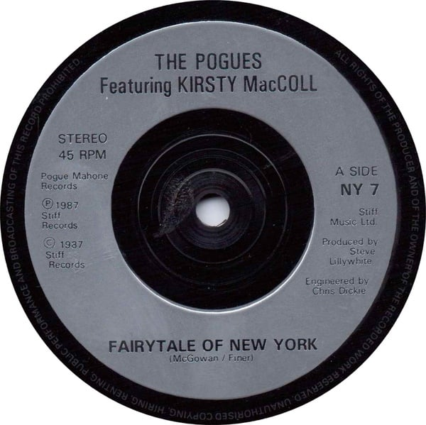 Fairytale of New York (1987 silver label)