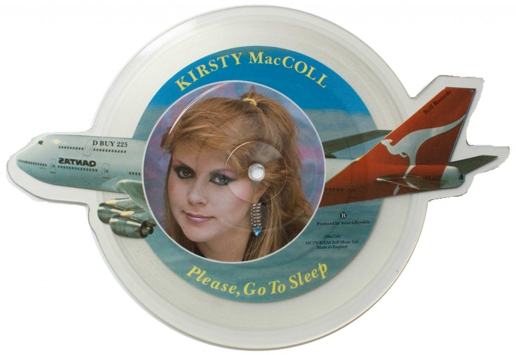 He's on the Beach (picture disc) B side
