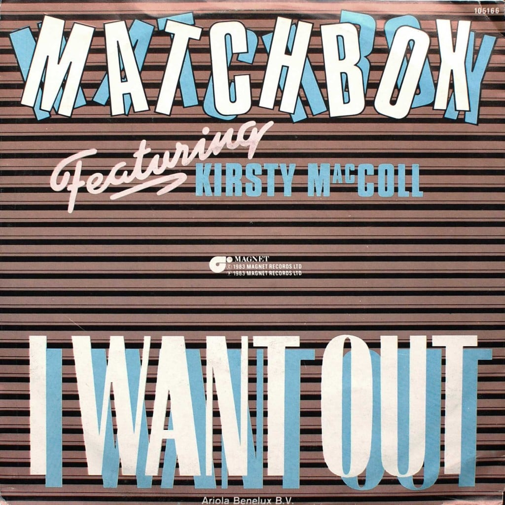 I Want Out (picture sleeve)
