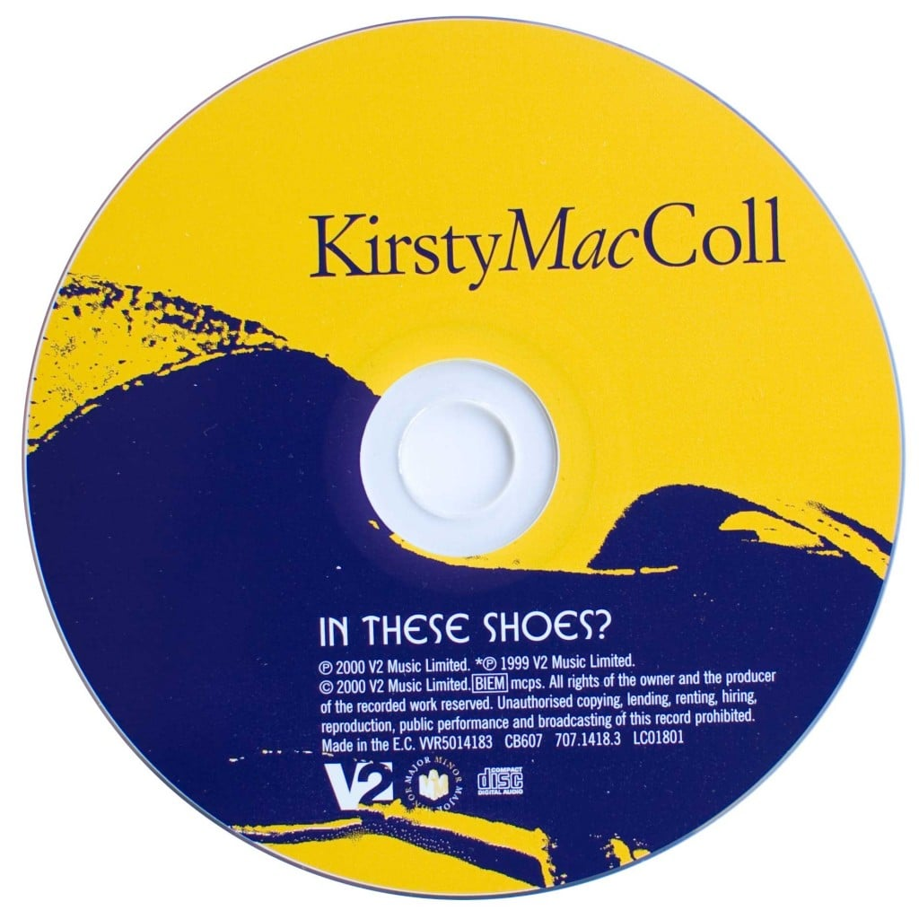 In These Shoes? (German CD single) disc