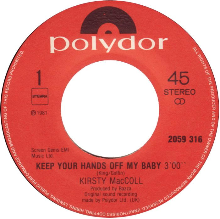 Keep Your Hands Off My Baby (Dutch A side)
