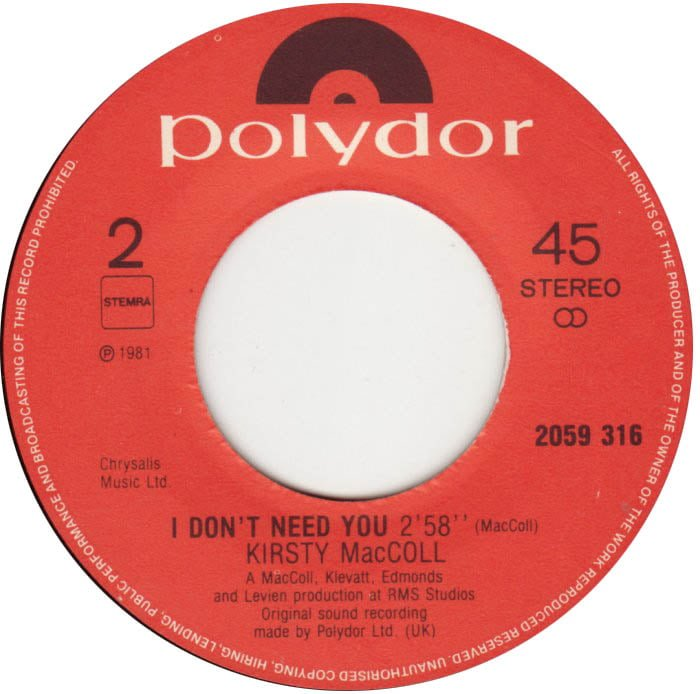 Keep Your Hands Off My Baby (Dutch B side)