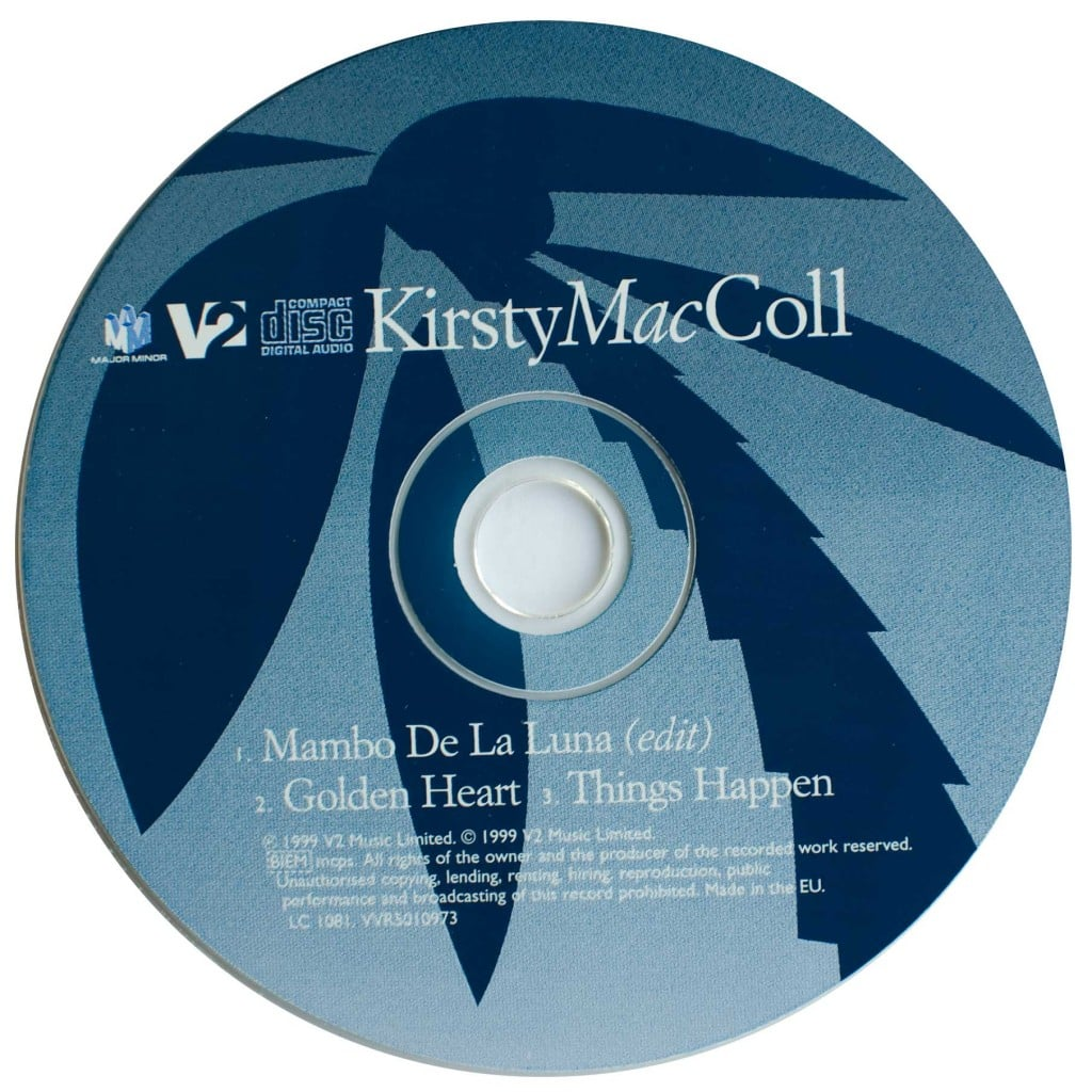 Mambo de la Luna (CD single 2) disc