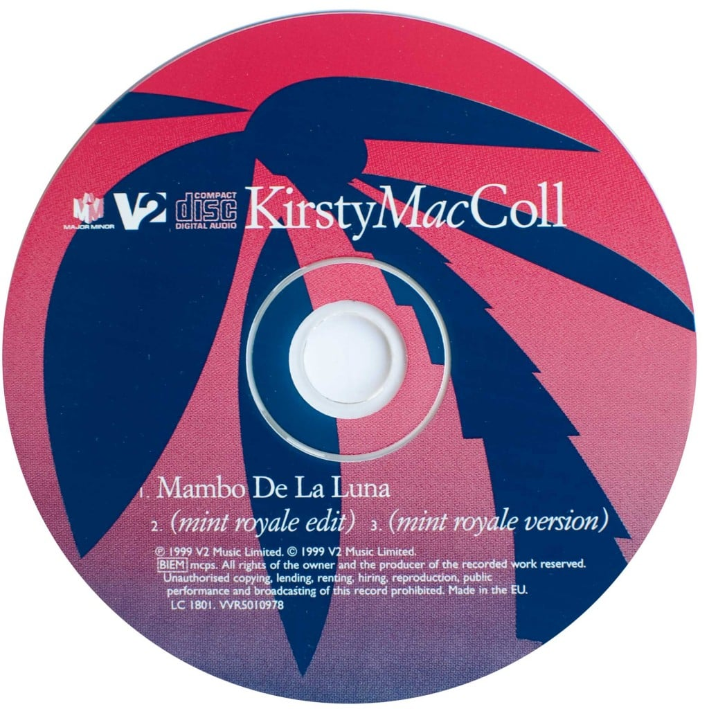 Mambo de la Luna (CD single ) disc