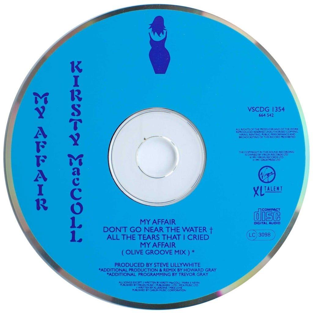 My Affair (CD single) disc