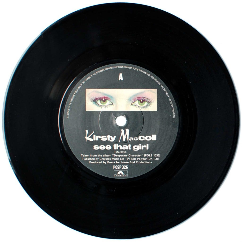 "See That Girl (7"" single) A side"