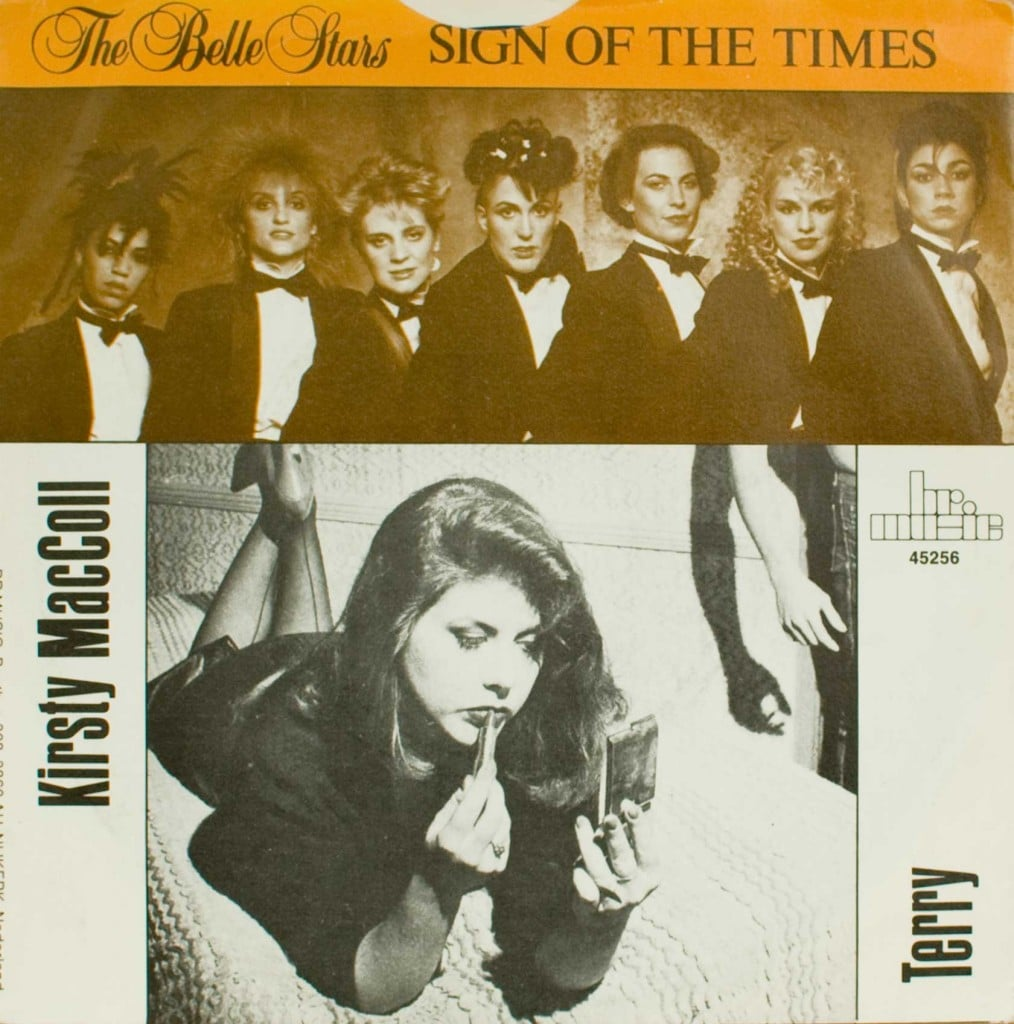 Dutch Terry and Belle Stars single cover