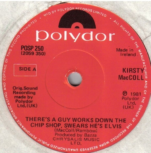 "Chip Shop Irish 7"" single (A Side)"