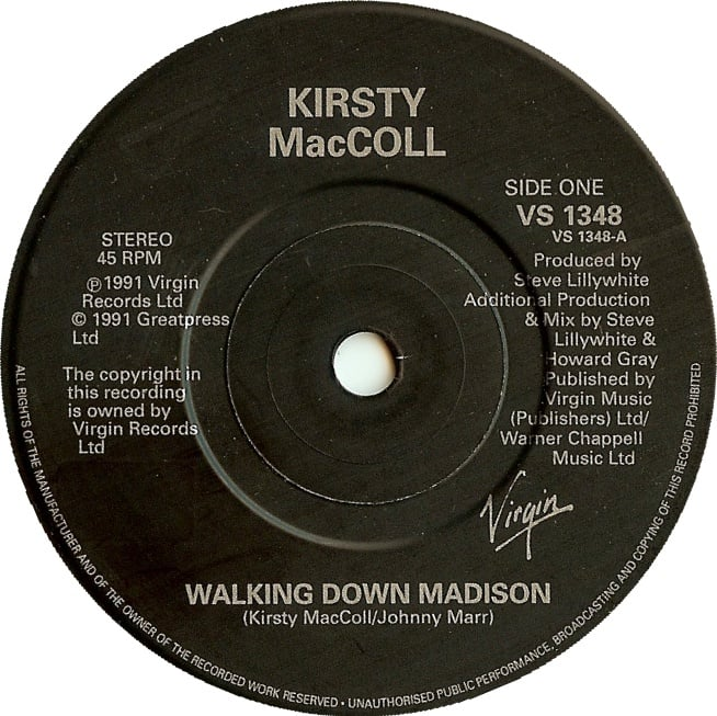 "Walking Down Madison (7"") A side"