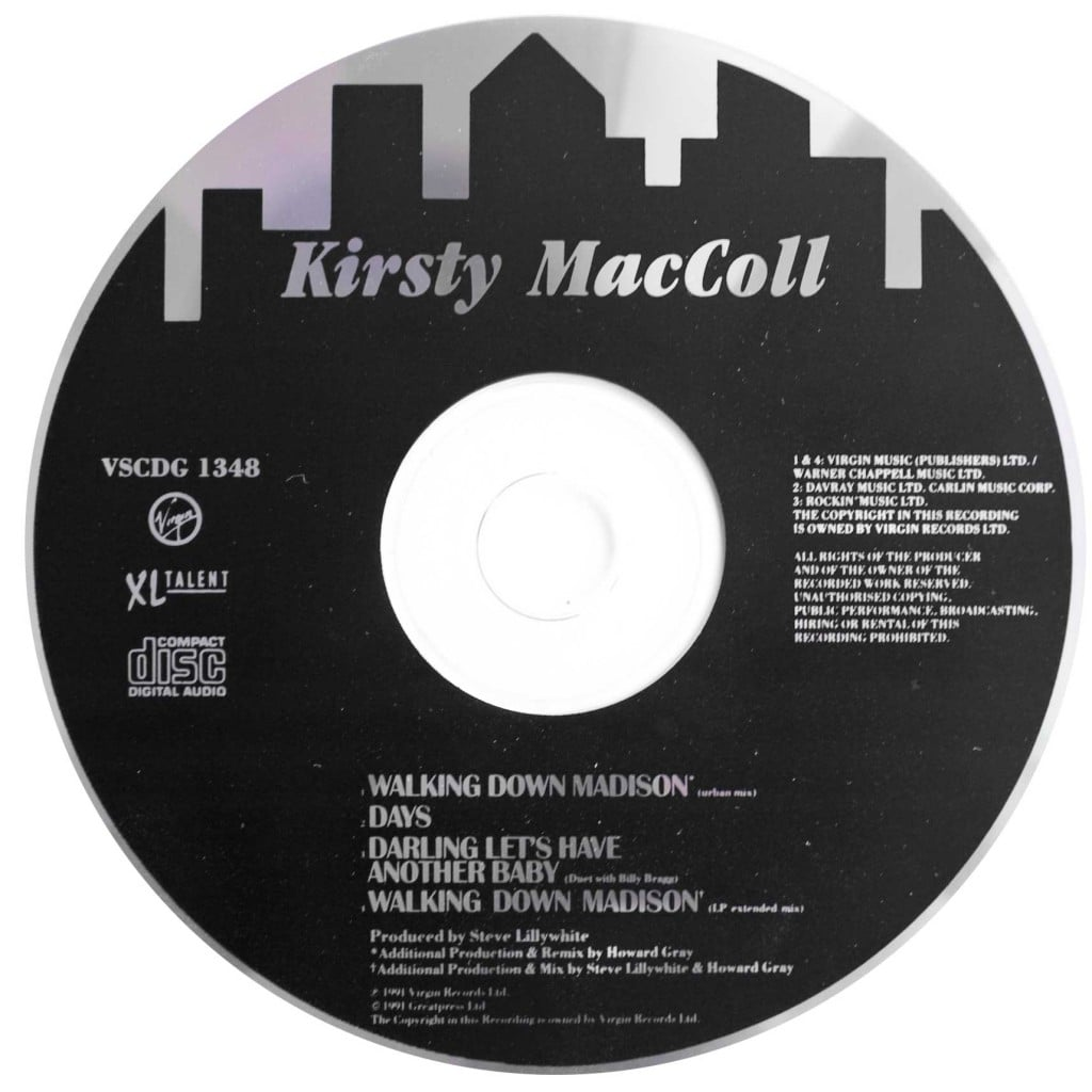 Walking Down Madison (CD single 2) disc