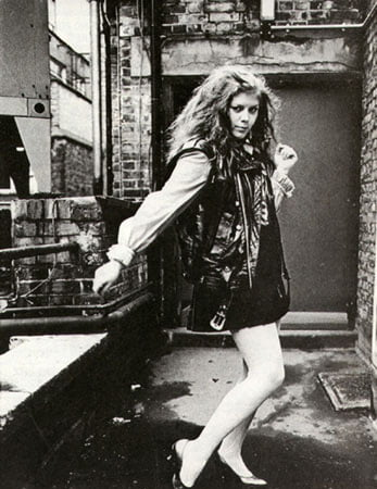 Kirsty hits a pose for Smash Hits, 1981