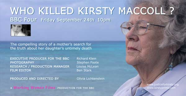 Who Killed Kirsty MacColl