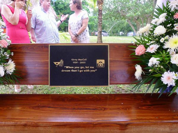 Kirsty's Bench in Cozumel