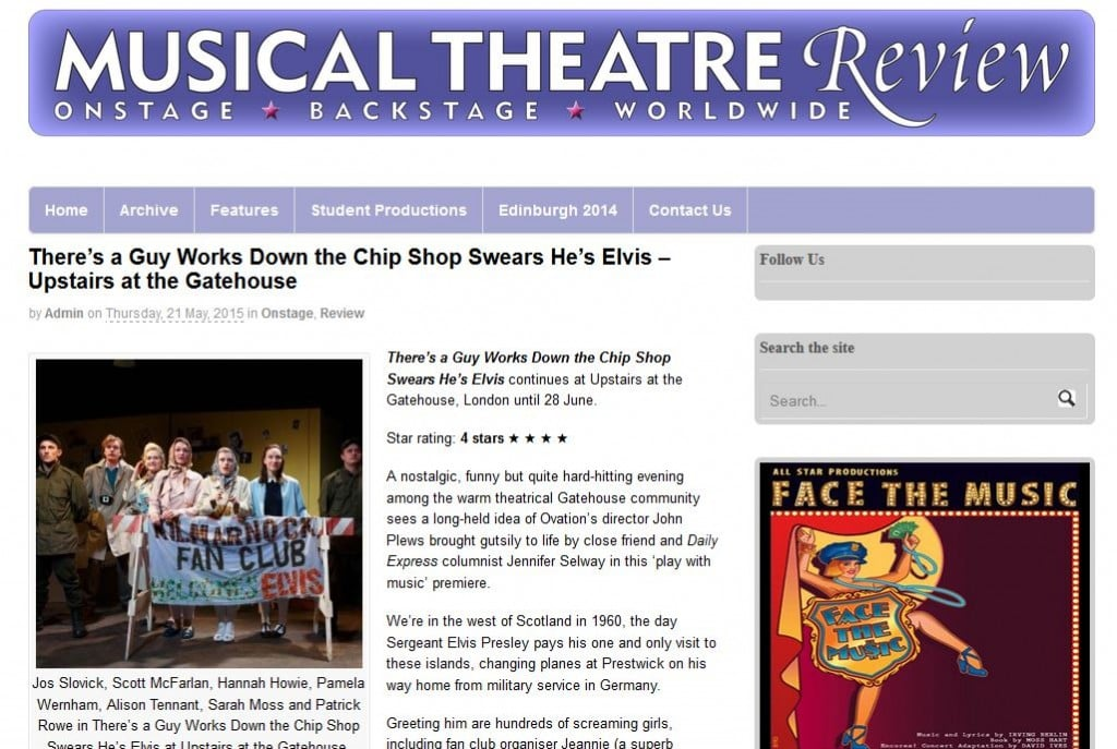 Gatehouse Theatre review