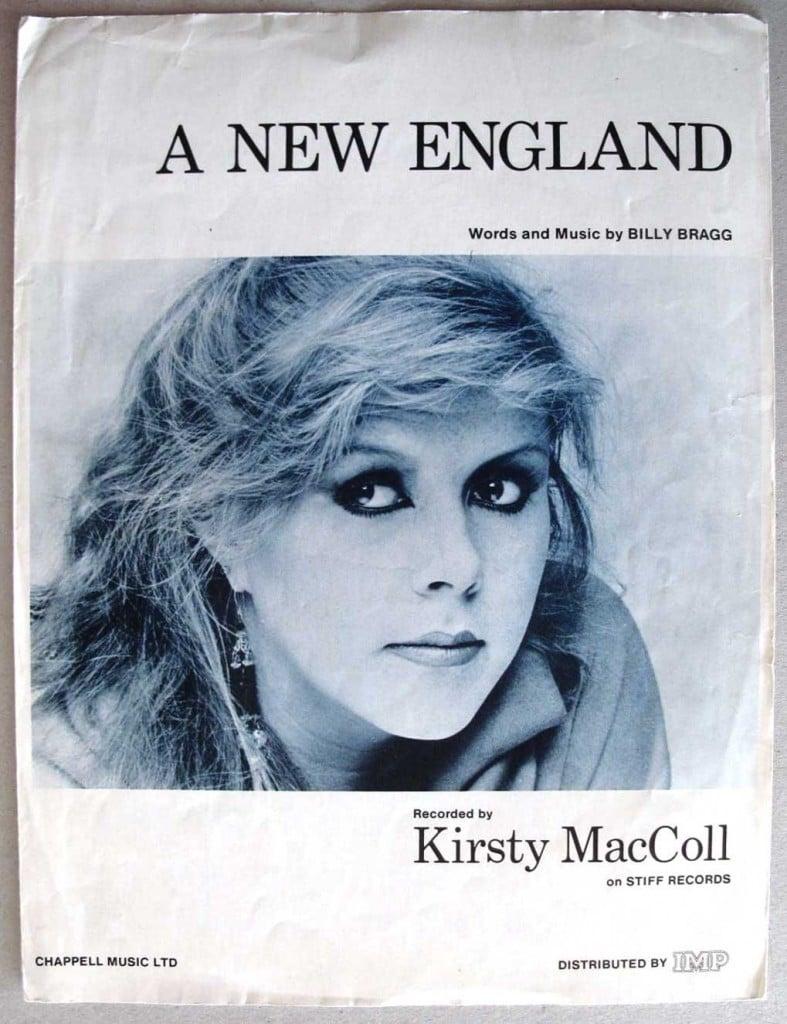 A New England (sheet music)