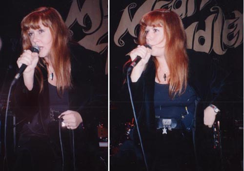 Kirsty MacColl at the Mean Fiddler, 1992 © Terry Hurley